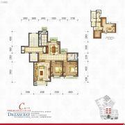 丽汤・首山梦之湾2室2厅1卫117平方米户型图