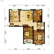 东都国际3室2厅1卫109平方米户型图
