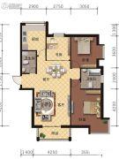 海德堡庄园3室2厅2卫126平方米户型图