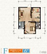 清苑尚景2室1厅1卫0平方米户型图