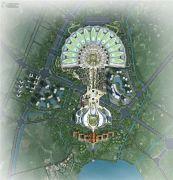 滇池国际会展中心・山海湾规划图