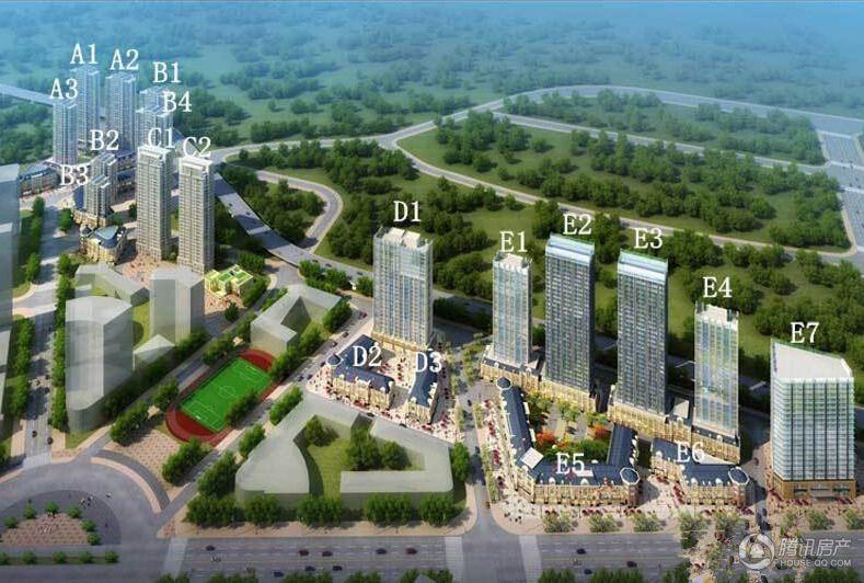 港湾隽景规划图