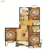 雍雅锦江3室2厅2卫116平方米户型图