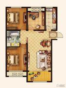 广厦财富中心3室2厅1卫118--119平方米户型图