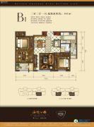 远洋朗越2室2厅1卫101平方米户型图