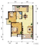 东山雅居2室2厅1卫93--94平方米户型图