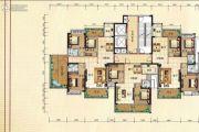 兴业花园3室2厅2卫122平方米户型图
