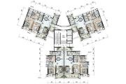 保利国际广场91--130平方米户型图