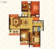 江铃瓦良格4室2厅2卫143平方米户型图