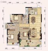 奥林匹克花园五期3室2厅2卫0平方米户型图