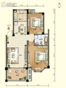 航宇・香格里拉2室2厅1卫86--90平方米户型图