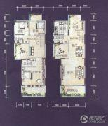 创景外滩3室2厅3卫161平方米户型图