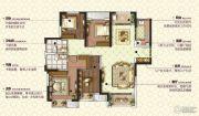 康桥九溪郡4室2厅2卫140平方米户型图