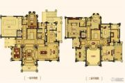 合生东郊别墅875平方米户型图