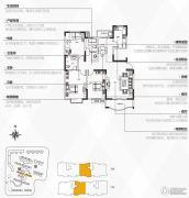 银隆开元名郡3室2厅2卫137平方米户型图