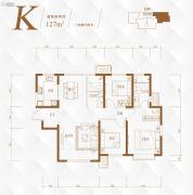路劲太阳城3室2厅2卫0平方米户型图