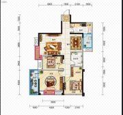 久安新坐标3室2厅1卫107平方米户型图
