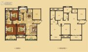 红星国际广场2室2厅2卫153平方米户型图