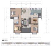 医大广场4室2厅2卫117平方米户型图