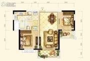 耀江・西岸公馆2室2厅1卫88平方米户型图