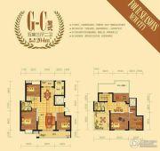 四季新城5室3厅2卫204平方米户型图