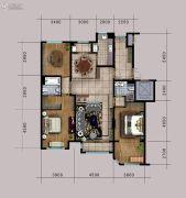 泽信加州公馆2室1厅1卫0平方米户型图