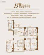 上城公馆・北郡5室2厅3卫247--248平方米户型图