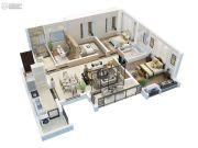上实海上海4室2厅2卫120平方米户型图