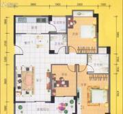 八桂凤凰城3室2厅2卫120平方米户型图