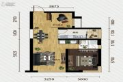 又一城・尚座2室2厅1卫73平方米户型图