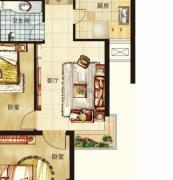 茂华国际汇1室1厅1卫0平方米户型图