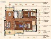 弘洋・凡尔赛花园4室2厅2卫137平方米户型图