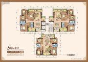 开平・天玺湾4室2厅2卫130--150平方米户型图