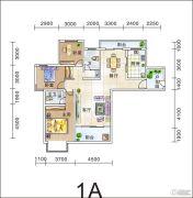 滨江观邸・纯水岸3室2厅1卫0平方米户型图
