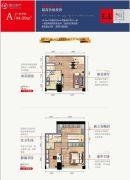 欧亚国际・小美墅44平方米户型图