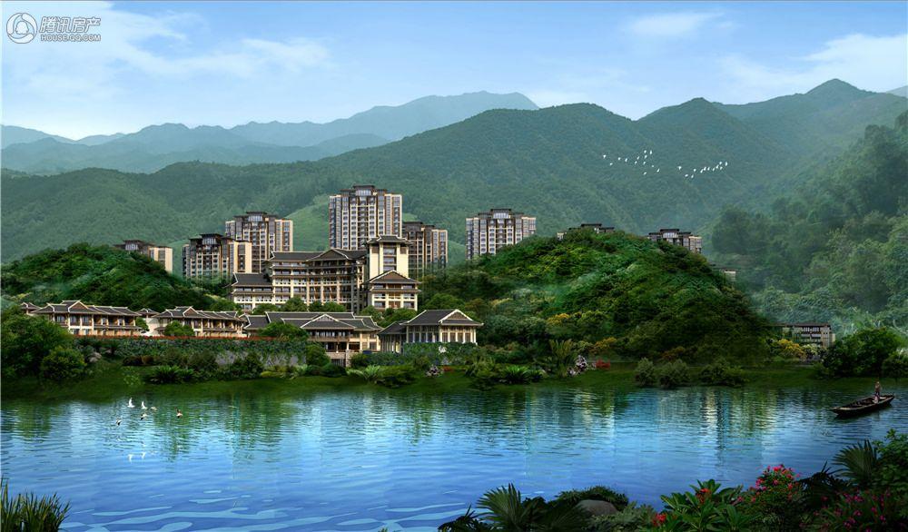 溪山温泉旅游度假村效果图