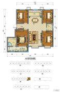 阳光・金水岸4室2厅2卫132平方米户型图