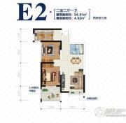 荣德・棕榈阳光0室0厅0卫0平方米户型图