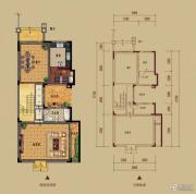 龙光棕榈水岸1室2厅1卫336平方米户型图
