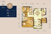 龙光玖龙湾4室2厅3卫190平方米户型图