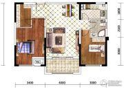 佳兆业水岸华府0室0厅0卫92平方米户型图