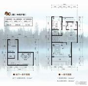 卓达太阳城汉府346平方米户型图