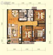 鲁商・金悦城3室2厅1卫0平方米户型图