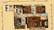 汇景城市中心4室2厅2卫0平方米户型图