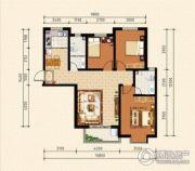 泰华城3室2厅2卫0平方米户型图