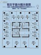 江门万达广场1室1厅0卫51--208平方米户型图