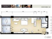禾田居曼湾1室0厅1卫0平方米户型图