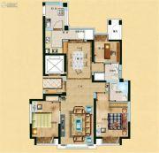新河镇新商大厦3室2厅2卫119平方米户型图
