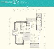 京武・浪琴山3室2厅2卫174平方米户型图