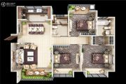 颐馨・湿地・壹�3室2厅2卫125平方米户型图